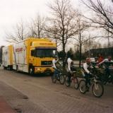 vrachtwagen Oostland voorttrekken