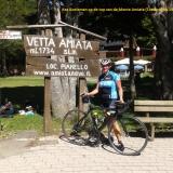 K Koeleman op de top van de Monte Amiata op 19-07-2016