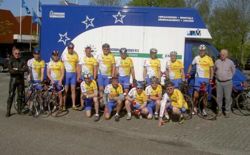 groepsfoto bevrijdingsvuur 2008