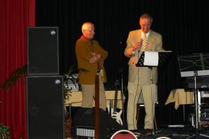 Marti Ploeger & Jan Broekema tijdens het jubileumgala 2005